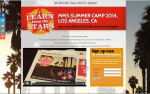 Music Rock Camp Pasadena